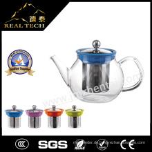 Großhandel Weihnachtsgeschenk Borosilikatglas Teekanne