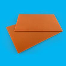 電気機器黒/オレンジ色のフェノール紙ラミネートシート