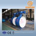 acier au carbone wcb dn1200 soudure vanne papillon bidirectionnelle joint dur