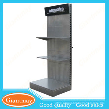 Wholesale Giantmay hardware tool metal floor display perforated shelves