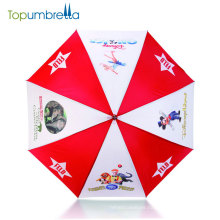 promotion big straight windproof print auto open custom advertising golf umbrella