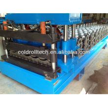 Techo de acero esmaltado Azulejo que hace la hoja que hace la máquina