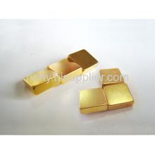 Gold Coated Ndfeb Magnet