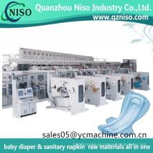 Máquina de fabricación de toallas sanitaria Kotex nueva y usada hecha en China para la venta