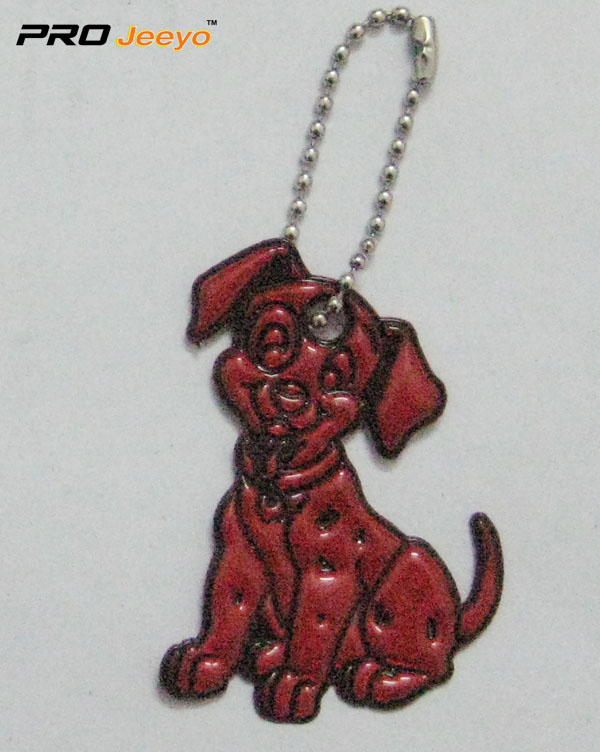Reflective Pvc Dog Key Chain Rv 214 3