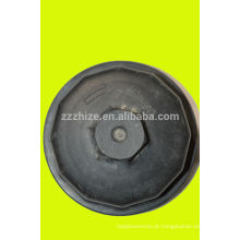 venda quente 13061607 weichai tampa do filtro de óleo para caminhão