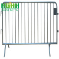 HEAVY DUTY GALVANIZED STEEL CROWD SAFETY BARRICADES