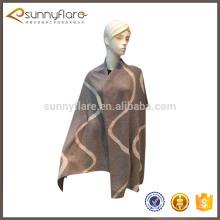 Bufanda grande hecha punto de la cachemira de las señoras