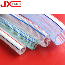 PVC+Clear+Flexible+Fiber+Braided+Hose