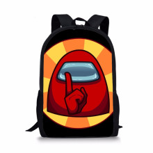 Fashionable Cartoon Student Schoolbag Multi-Functional Versatile Student Backpack