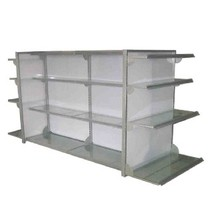 Supermarkt-Display Rack Stahl