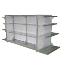 Supermercado Display Rack aço