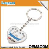 Christmas gift of metal rhinestone key chain,Welcome customized