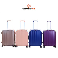 2017 New Chubont 8 Wheels Hot Selling PC Suitcase