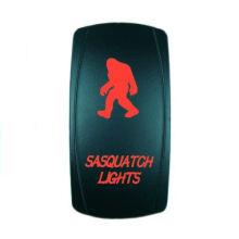 Laser Blue LED Light Rocker Switch/on/off Rocker Switch
