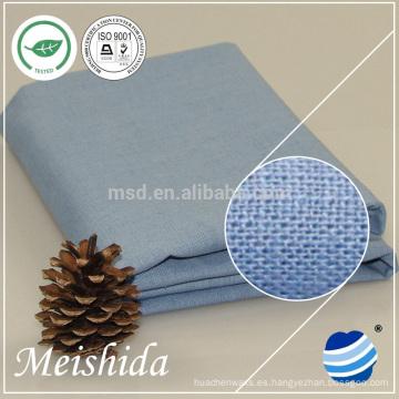 tejido de algodón de lino lavado popular