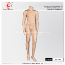 Mannequin without head for man
