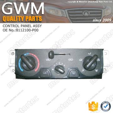 GREAT WALL WINGLE PARTS CONTROL PANEL SUBASSY OEM NO.:8112100-P00