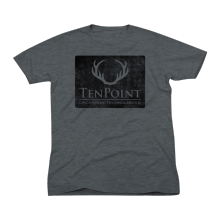 TENPOINT - T-SHIRT DE LOGOTIPO (CHARCOAL)