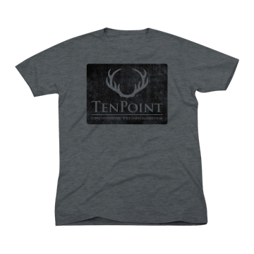 TENPOINT - LOGO T-SHIRT (CHARCOAL)