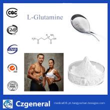 L-glutamina crua CAS 56-85-9 do pó do esteroide para o suplemento à nutrição do esporte