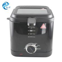 2017 OEM popular 1.5L Mini cocina de aluminio usada en casa Máquina de freidora de pollo eléctrica