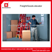 BOLT brand cargo elevator price with powerful carrying ability