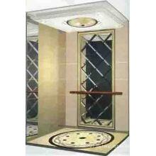 Sala de máquinas de tracción menos ascensor de lujo