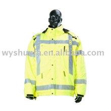 Sicherheitswarnung Reflektierende Jacke