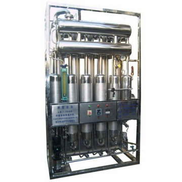 we manufacture and export LD1000-5 Multi-effect water distillation machine
