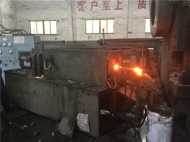 400kw medium frequency induction hearing furnace