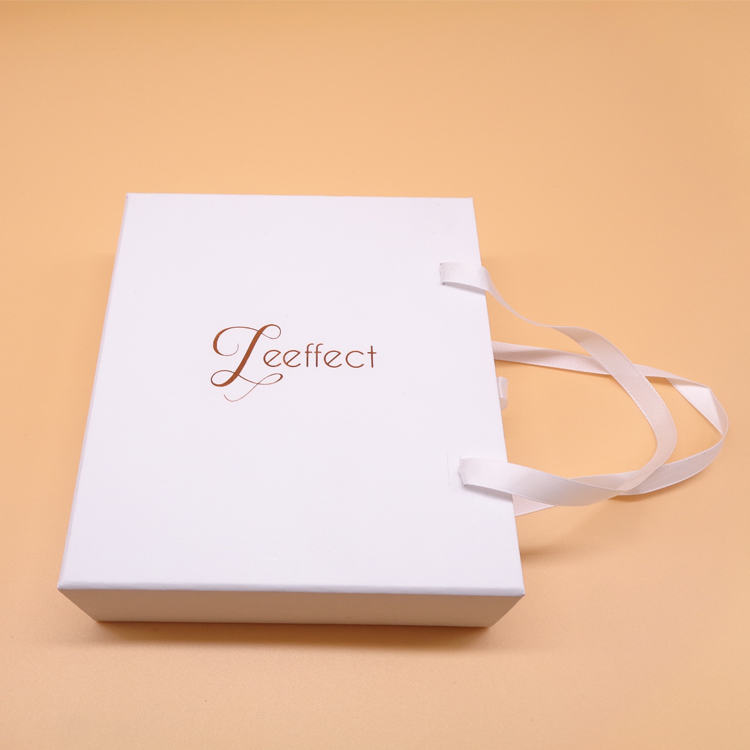 White Paper Drawer Rigid Gift Box
