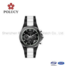 Unisex Fashion Trend Design Quartz Ceramic Watch with Cheap Price Custom Color Watch