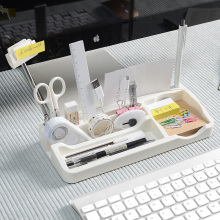 Plastic Stationery Desk Table Organizer
