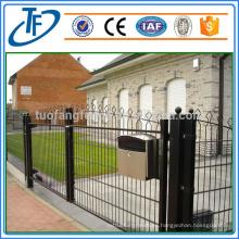 El alambre doble de alta calidad asegura la cerca soldada del acoplamiento (muestra libre)