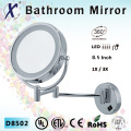 8.5 Inch Magnifying LED Bathroom Mirror, Dimmer Switch (D8502)