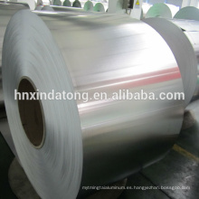 Bobinas de aluminio de cierre 8011H14