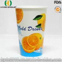 12 Oz do copo de papel de bebida gelada para suco