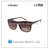 Fashion plastic sunglasses with metal arms