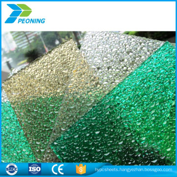Cheap wholesale fine corrosion resistance colored twin wall polycarbonate lightweight roofing materials sheet