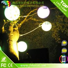 Lampe à bille LED à télécommande avec changement de couleur