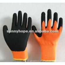 Latexbeschichtete Handschuhe mit schwerer Wärme gefüttert