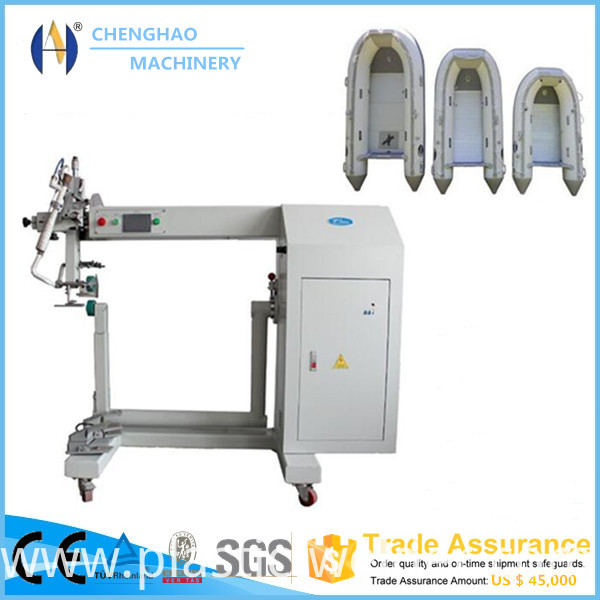 hot air seam sealing machine for infltable boats