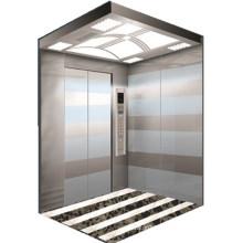 MR/MRL titanium etching /mirror etching 6 passenger elevator