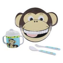Ensemble de vaisselle pour enfants en mélamine avec 4PCS (TZ3108)