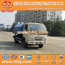 4X2 DONGFENG brand 95hp capacity of 5 tons rear loader garbage truck high quality and inexpensive in China