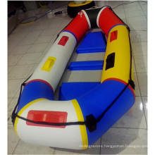Perfect Colorful Fishing Dinghy Boat