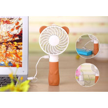 Mini Portable Handheld Cute Bear Fan para viagens
