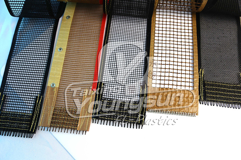 ptfe(Teflon) coated open mesh conveyor belt