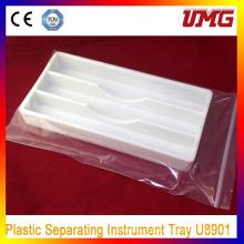 Dental Autoclavable Cabinet Trays Plastic Trays
